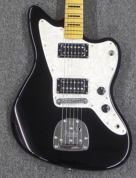 fender modern player jazzmaster hh black guitar reverb. Black Bedroom Furniture Sets. Home Design Ideas