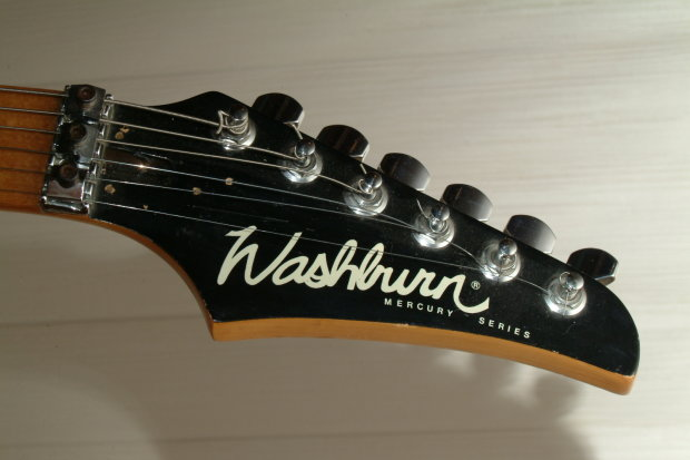 washburn mercury for parts or repair exclnt 24 fret maple neck tremolo free ship reverb. Black Bedroom Furniture Sets. Home Design Ideas