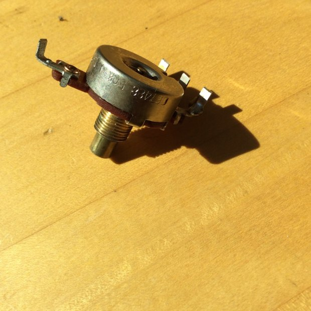 Date fender amp by transformer codes pot