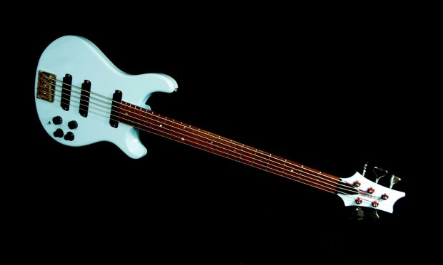 paul reed smith bass 5 1987 baby blue extremely rare one of first bass guitars by prs. Black Bedroom Furniture Sets. Home Design Ideas