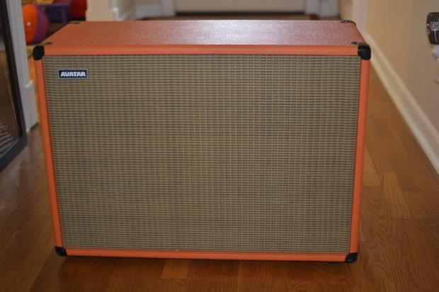 avatar traditional 2x12 guitar cabinet open back orange reverb. Black Bedroom Furniture Sets. Home Design Ideas