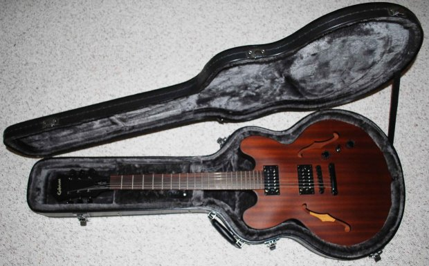 beautiful epiphone dot studio archtop electric guitar epiphone hard case reverb. Black Bedroom Furniture Sets. Home Design Ideas