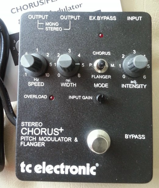 tc electronic scf stereo chorus flanger mint in box reverb. Black Bedroom Furniture Sets. Home Design Ideas