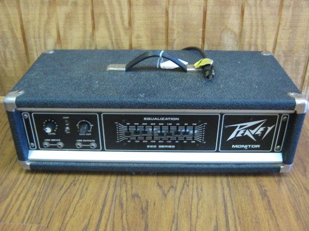 Vintage Peavey Bass Amp 105