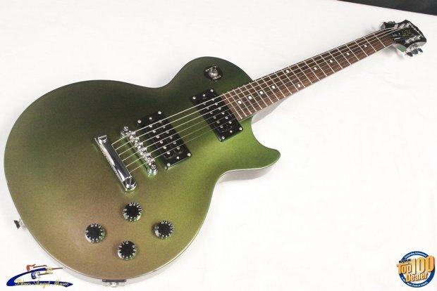 2007 epiphone les paul studio chameleon electric guitar w hsc green 26362 reverb. Black Bedroom Furniture Sets. Home Design Ideas