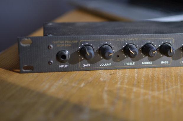 Marshall 9000 Series Mgp 9004 Rackmount Guitar Preamp W