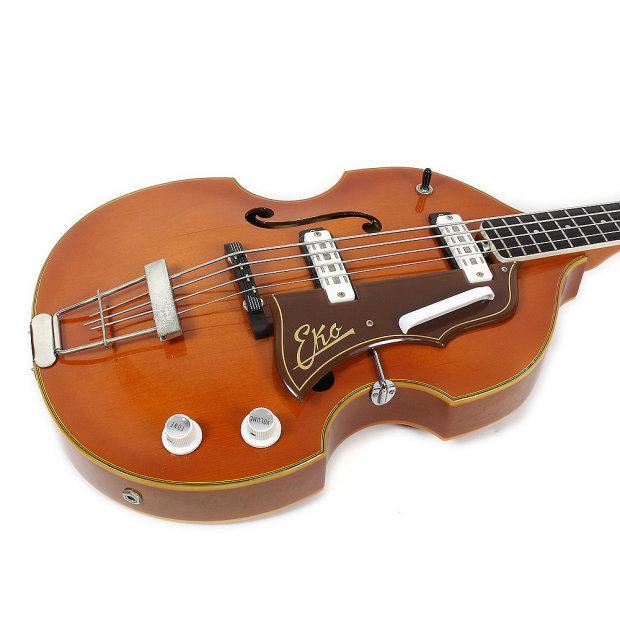 vintage italian made eko 995 hollow body 4 string electric bass guitar reverb. Black Bedroom Furniture Sets. Home Design Ideas