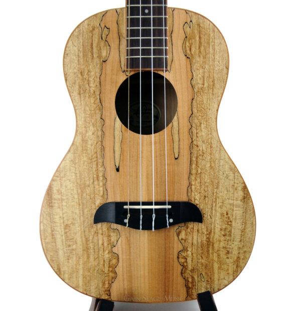 oscar schmidt ou58 ukulele baritone spalted maple reverb. Black Bedroom Furniture Sets. Home Design Ideas