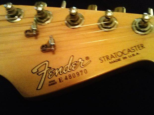 Fender American Strat Custom Reverb