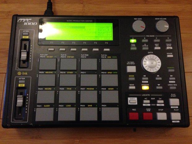 mpc drum machine