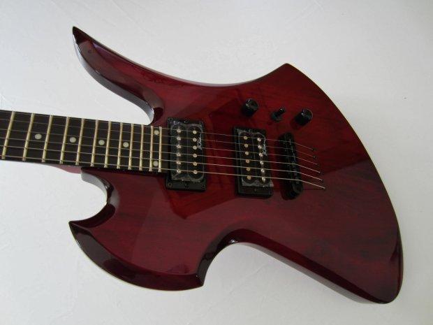 BC Rich MG1TRD Mockingbird One Electric Guitar - Trans Red ...