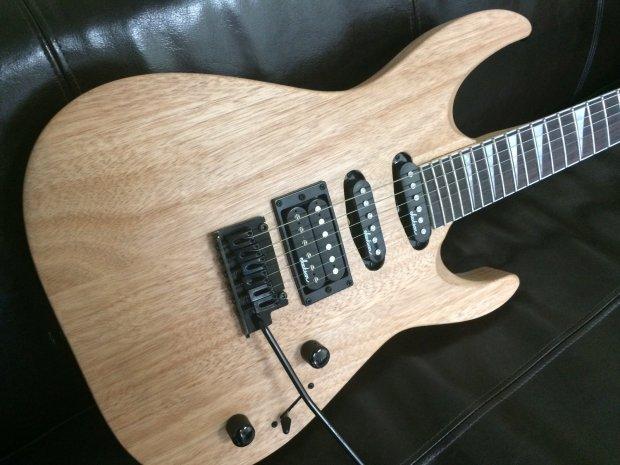 jackson js23 dinky electric guitar natural reverb. Black Bedroom Furniture Sets. Home Design Ideas