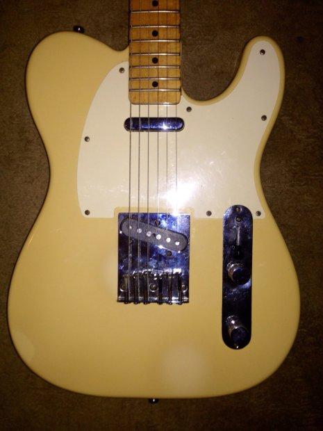 vintage 1983 fender telecaster standard american electric guitar 1983 reverb. Black Bedroom Furniture Sets. Home Design Ideas
