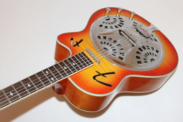 fender fr50ce cutaway acoustic electric resonator guitar w case reverb. Black Bedroom Furniture Sets. Home Design Ideas