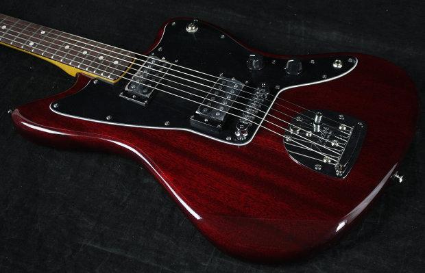 fender modern player jazzmaster hh electric guitar 2013 crimson red reverb. Black Bedroom Furniture Sets. Home Design Ideas