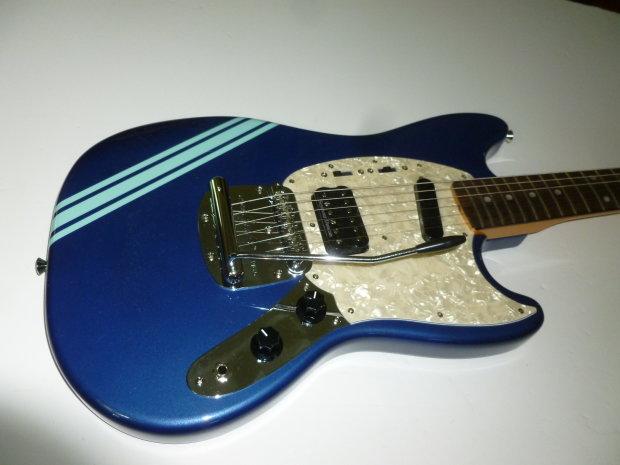 fender kurt cobain mustang 2013 lake placid blue reverb. Black Bedroom Furniture Sets. Home Design Ideas
