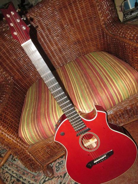 parker event series p6etr slim acoustic electric guitar w case reverb. Black Bedroom Furniture Sets. Home Design Ideas