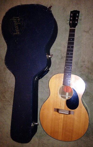 1999 gibson wm 00 working mans acoustic guitar made in the usa ohsc reverb. Black Bedroom Furniture Sets. Home Design Ideas