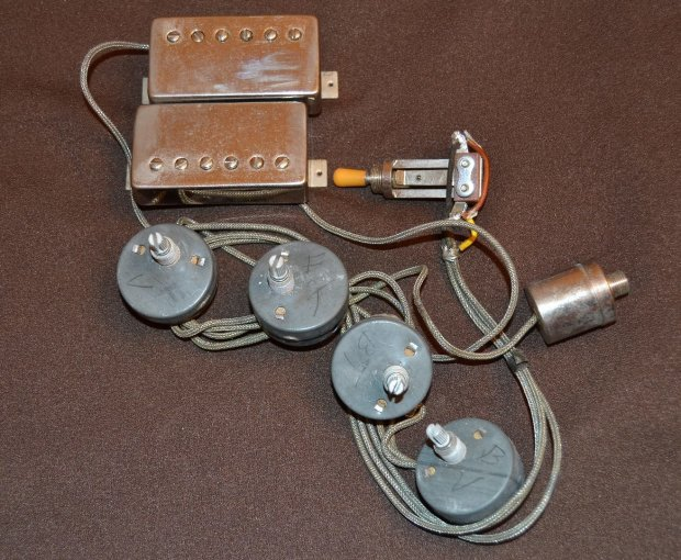 1959 complete and intact wiring harness and PAFs? on gibson es-335 wiring, gibson 50s wiring, gibson switch wiring, gibson les paul wiring mods,