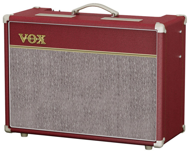 vox amplification limited edition red ac15 15w 1x12 2 ch tube combo guitar amplifier reverb. Black Bedroom Furniture Sets. Home Design Ideas