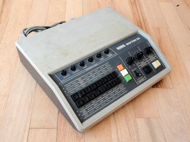 korg kr 55 rhythm 55 vintage analog drum machine image. Black Bedroom Furniture Sets. Home Design Ideas