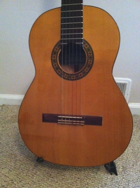 Artesano classical guitar by juan orozco 1985 valencia no - Artesanos valencia ...