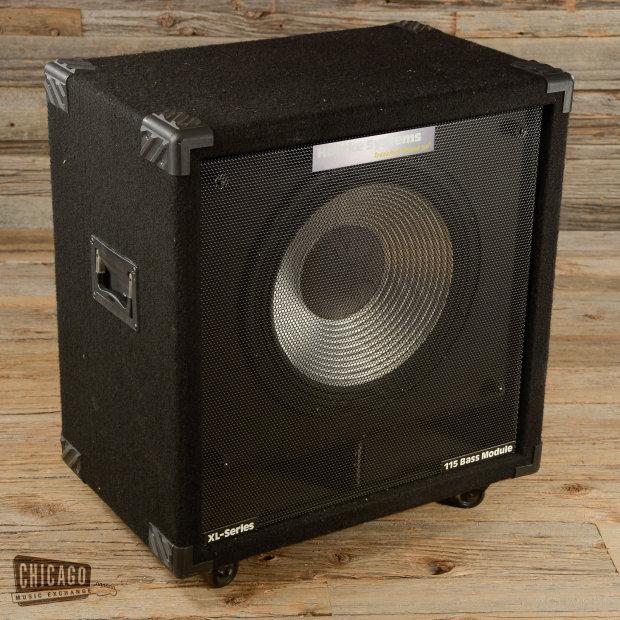 hartke xl series 200w 8 ohm 1x15 bass cab used s832 reverb. Black Bedroom Furniture Sets. Home Design Ideas