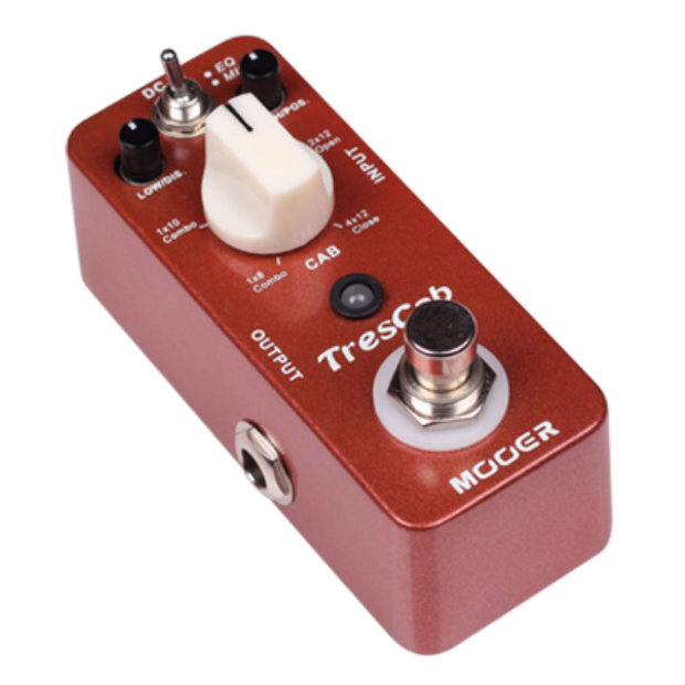 mooer trescab high quality digital speaker guitar cabinet simulator effect pedal free shipping. Black Bedroom Furniture Sets. Home Design Ideas