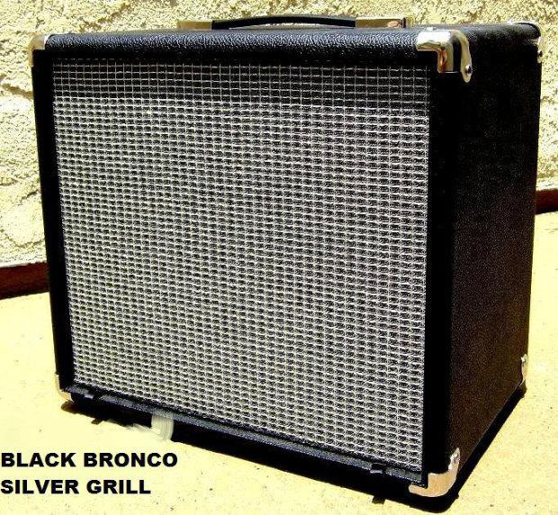 val amps 1x12 empty amp cabinet 2014 black silver reverb. Black Bedroom Furniture Sets. Home Design Ideas