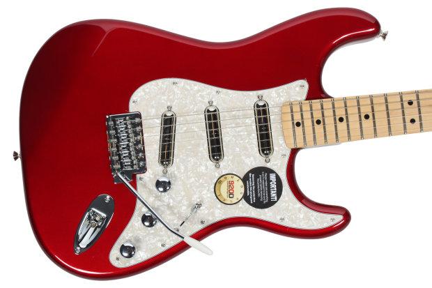 New Unfinihsed Strat Electric Guitar Builder Kit