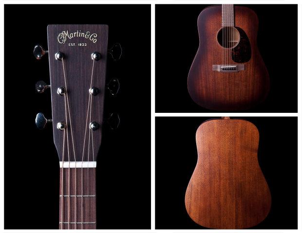 martin d15m burst mahogany dreadnought acoustic guitar reverb. Black Bedroom Furniture Sets. Home Design Ideas