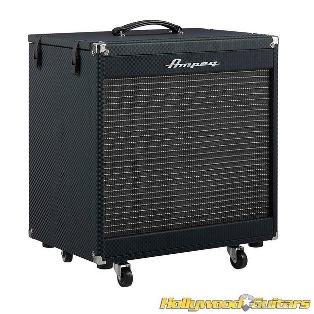 ampeg pf 210he portaflex 450w 2x10 flip top bass guitar speaker cabinet demo reverb. Black Bedroom Furniture Sets. Home Design Ideas