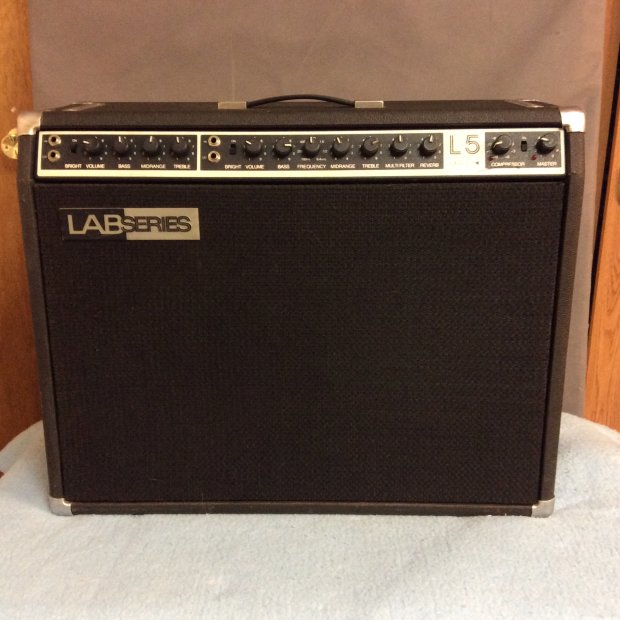 lab series l5 1980 39 s black solid state amp made famous by bb king reverb. Black Bedroom Furniture Sets. Home Design Ideas