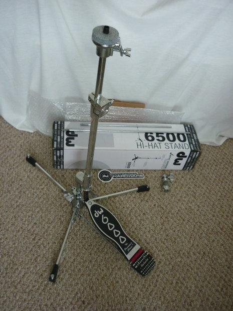 Dw Drum Workshop 6500 Flat Base Hi Hat Stand Reverb