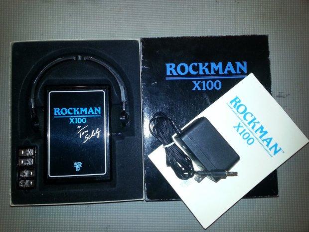 tom scholz rockman x 100 sn 262892 boxed with large 6v side power adapter reverb. Black Bedroom Furniture Sets. Home Design Ideas