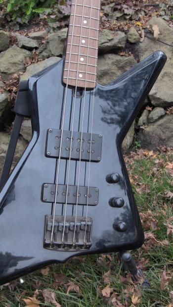 ibanez x series db 700 destroyer bass 1984 black reverb. Black Bedroom Furniture Sets. Home Design Ideas