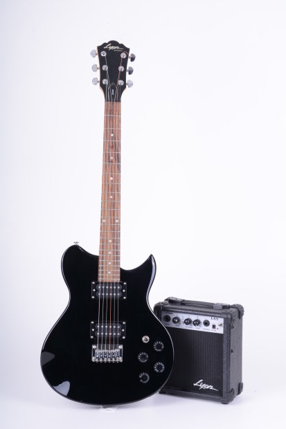 2007 lyon by washburn li15 electric guitar with amp great for beginners reverb. Black Bedroom Furniture Sets. Home Design Ideas
