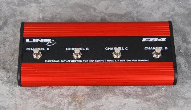 line 6 fb4 foot controller pedal 4 channel guitar effects reverb. Black Bedroom Furniture Sets. Home Design Ideas
