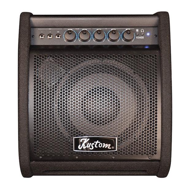 kustom kda50 electronic drum amplifier black reverb. Black Bedroom Furniture Sets. Home Design Ideas