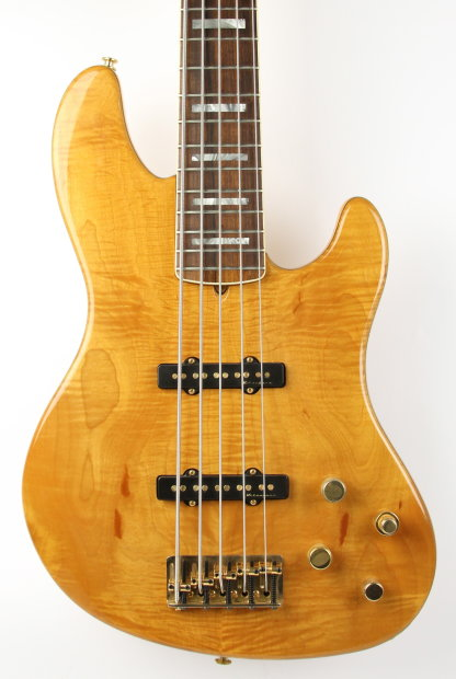 fender american deluxe jazz bass 5 string 2002 natural reverb. Black Bedroom Furniture Sets. Home Design Ideas