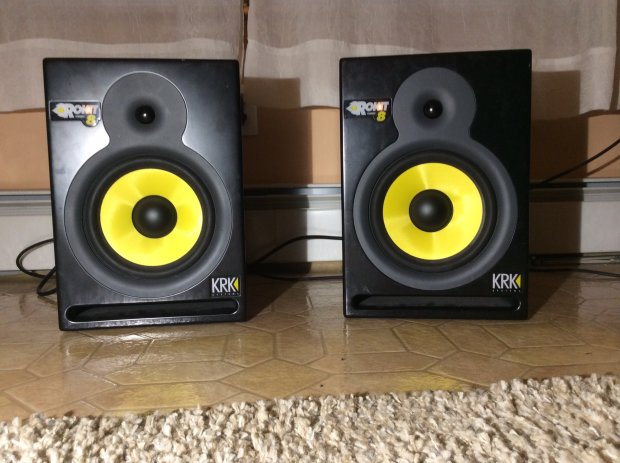 krk rokit 8 g1 powered speakers reverb. Black Bedroom Furniture Sets. Home Design Ideas
