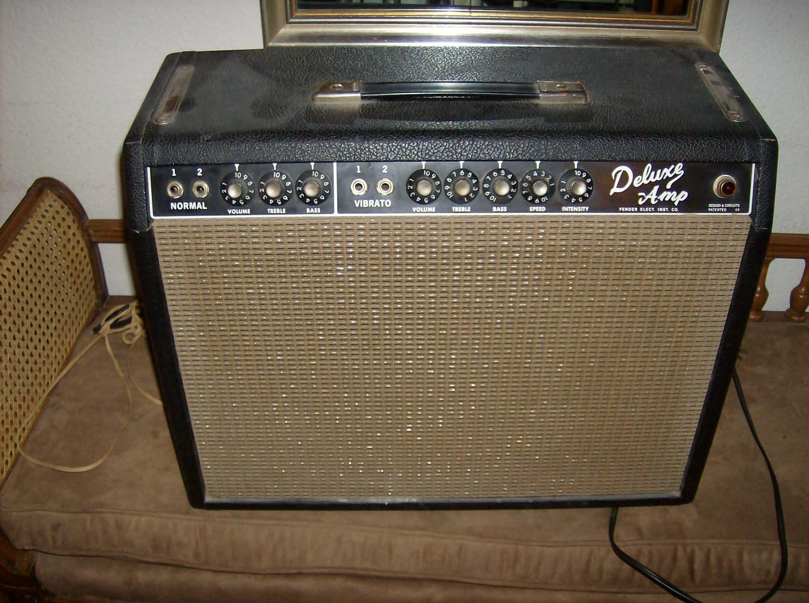 Fender Deluxe amp 1965 Black