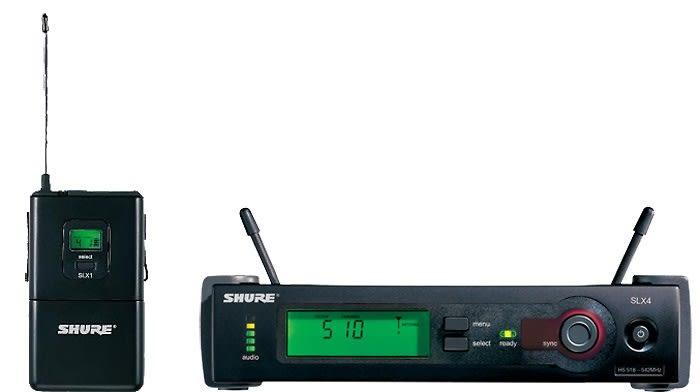 Shure SLX14 Instrument Wireless System G4 Band (470 – 494 MHz)