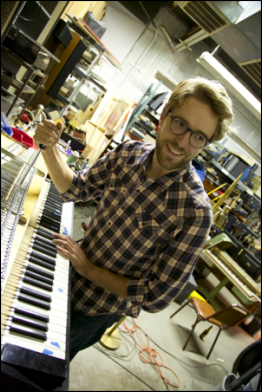 max brink of the Chicago Electric Piano company