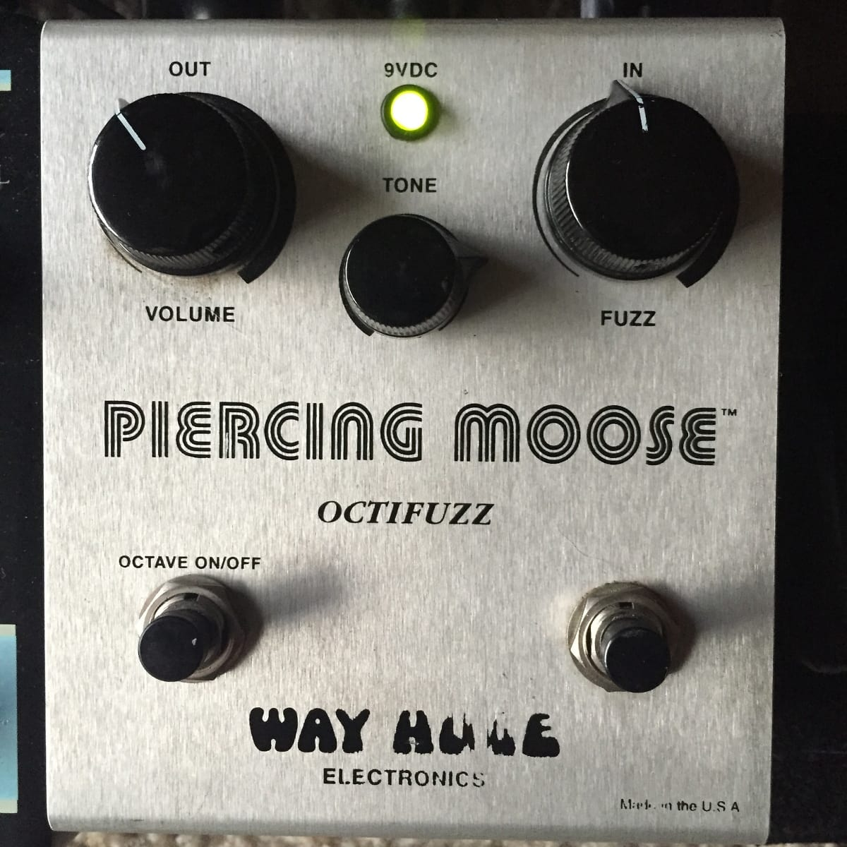 Way Huge Piercing Moose Octave Fuzz