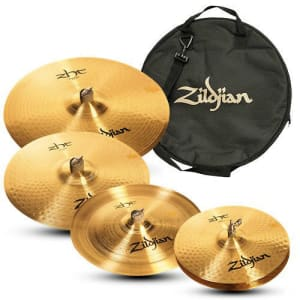 Sheet Bronze and Cast Bronze Cymbals