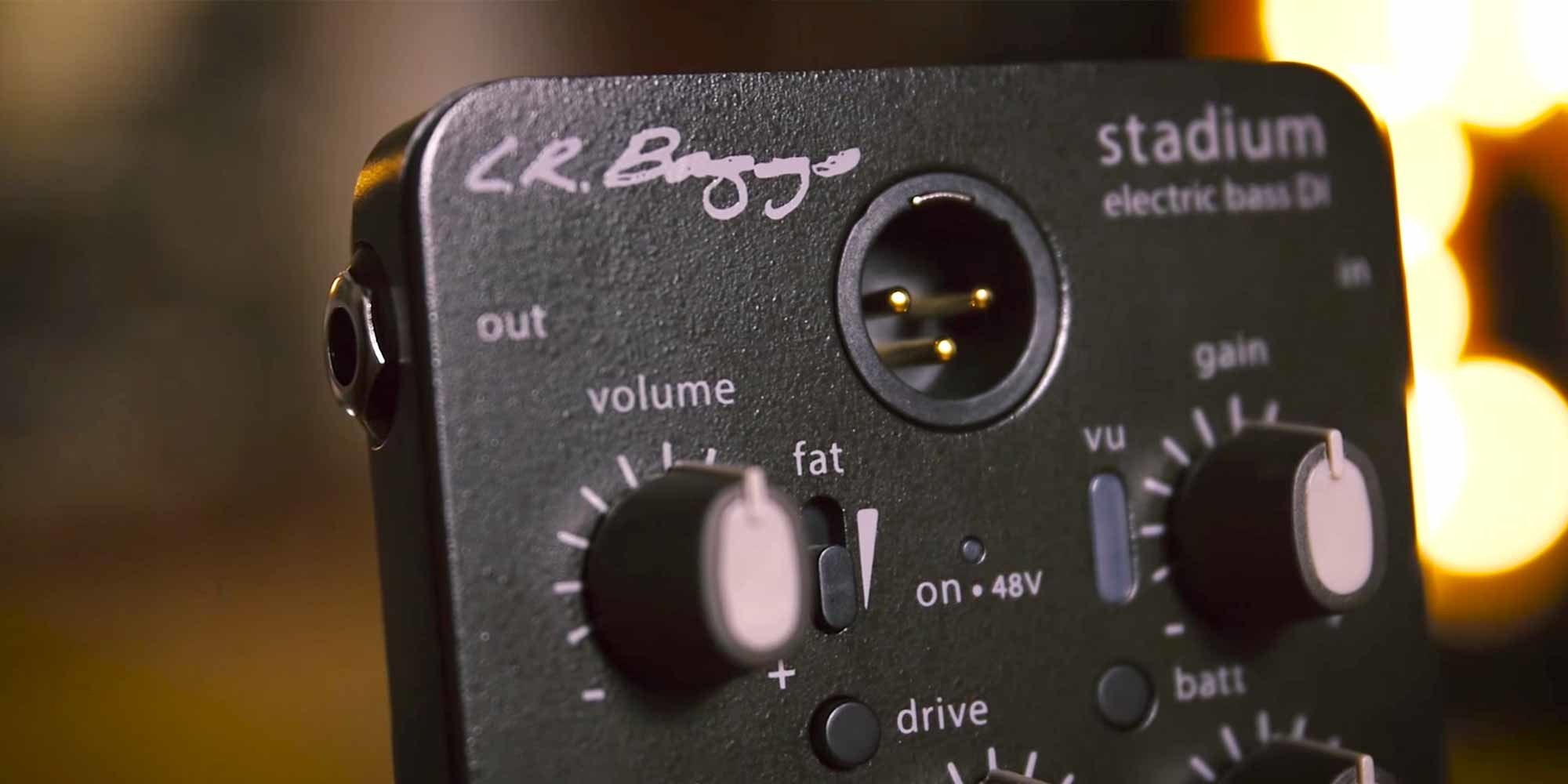 5 Essential Bass Di Pedals Reverb News Out In The Stadium Battery Is Source Of Electricity Our Sure You Can Just Plug Your Into A Regular Old Big Muff But When Pedal Specifically Configured For It Sounds