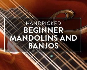 Handpicked | Beginner Mandolins & Banjos