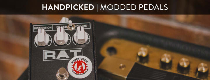 Modded Pedals: Upgraded, Improved and Otherwise Altered Stompboxes