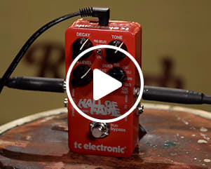 Video   TC Electronic Hall of Fame Reverb